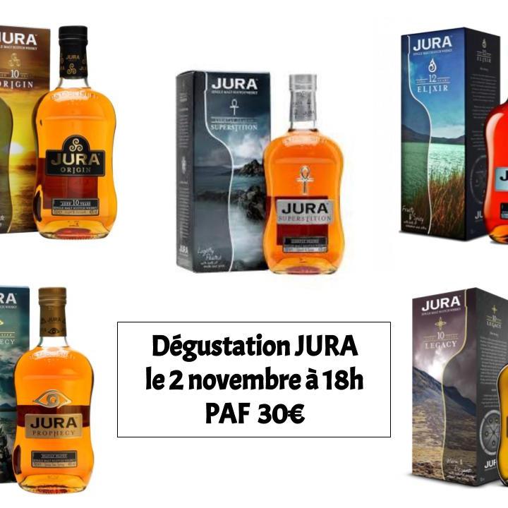 Dégustaion Whiskey JURA
