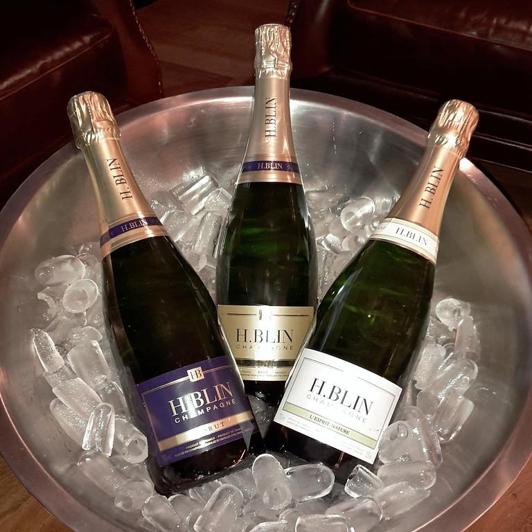 Dégustation de Champagne H. BLIN