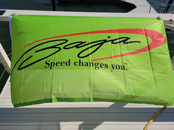 BAJA FLAG ( LIME GREEN )(3'x 5')