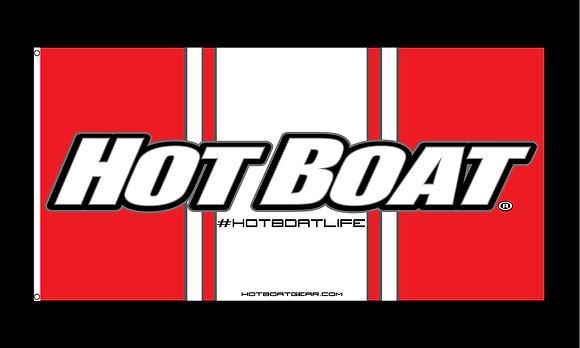 HOT BOAT FLAG (3'x6')