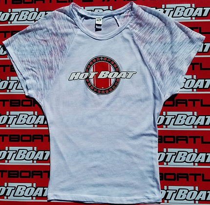 YOUTH HOT BOAT PSP LOGO TOP (WHITE)