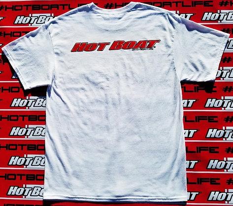 HOT BOAT ORGINAL LOGO T-SHIRT (WHITE)