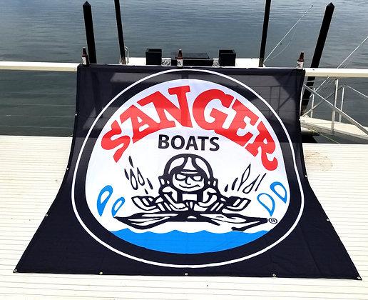 SANGER BANNER (8'X8')