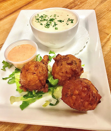 Clam Cakes & Chowder