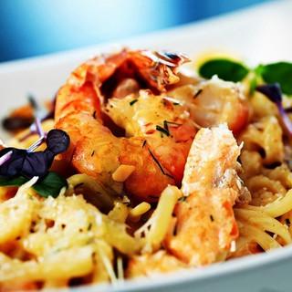 Shrimp & Feta Johnnys Restaurant