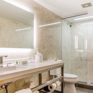 Guest Bathroom Wyndham Newport Hotel