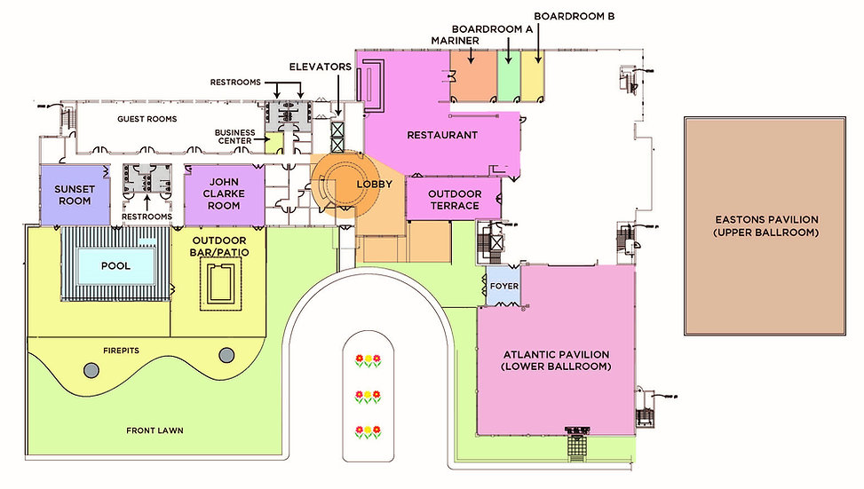 Wyndham Newport Hotel Floor Plan