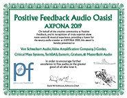AXPONA 2019 U9 Audio_Oasis VSA VAC Maste