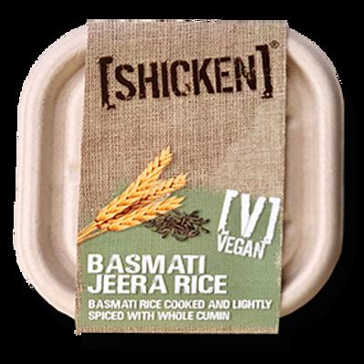 [SHICKEN] Basmati Jeera Rice 200g [vegan] - Serves 1 - Mild