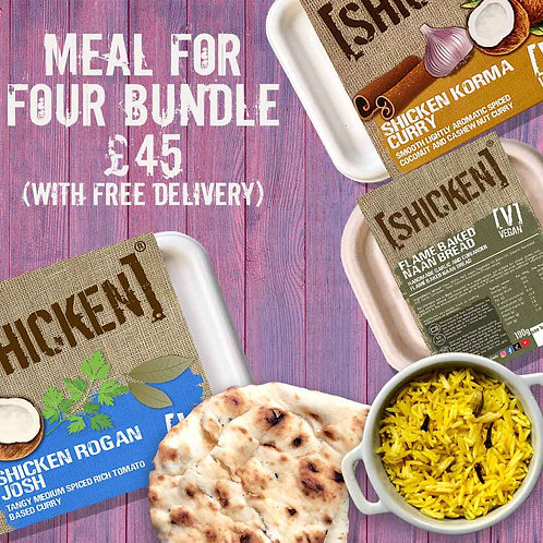 Meals-For-Four Bundle Box 2.37kg [vegan] Serves 4
