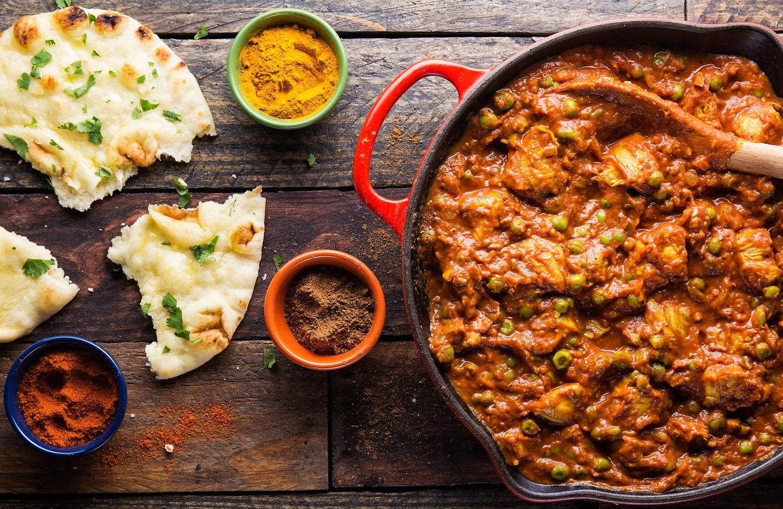Vegan Chicken Indian Curry