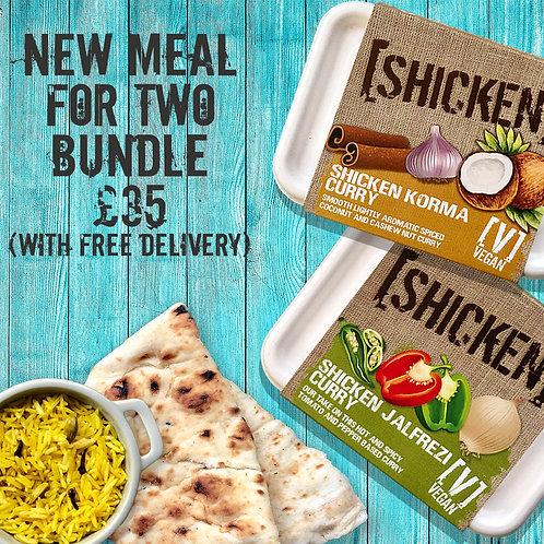 Meals-For-Two Bundle Box 2.02kg [vegan] Serves 2-4