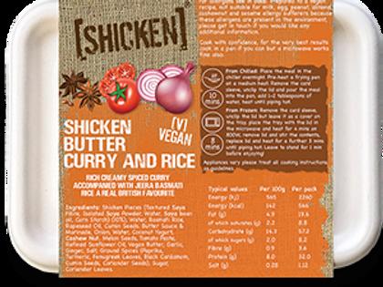 [SHICKEN] Butter & Rice 400g [vegan] - Serves 1