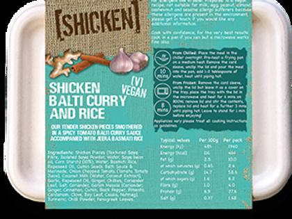 [SHICKEN] Balti & Rice 400g [vegan] Serves 1