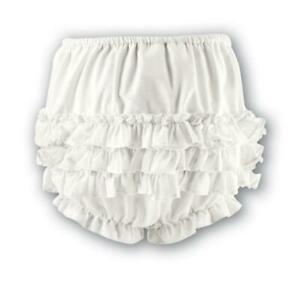 White Cotton Sarah Louise frillies