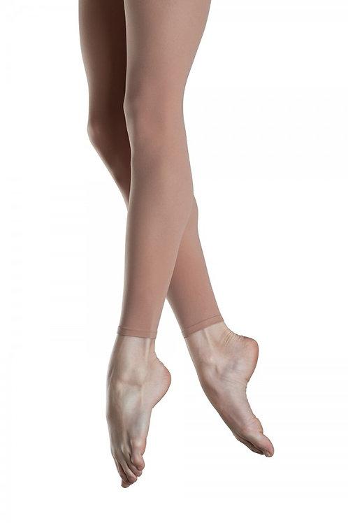 Tan Footless Tights Endura