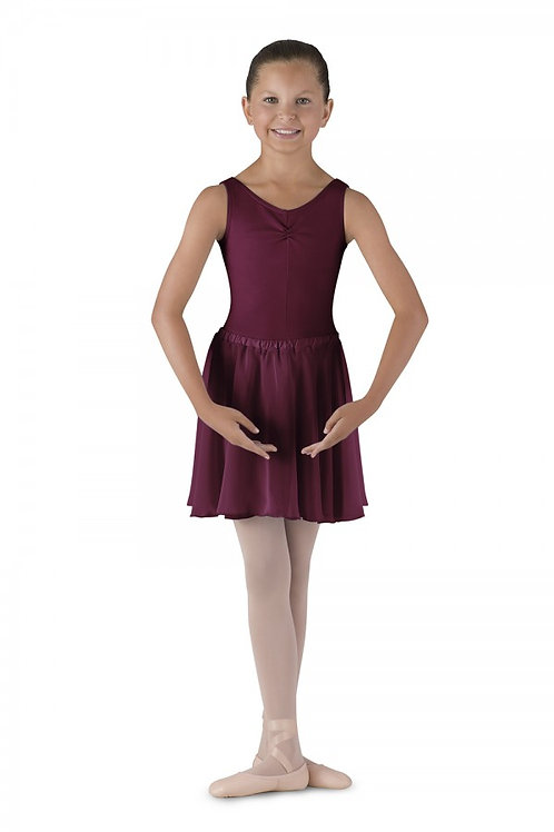 Plum circular skirt
