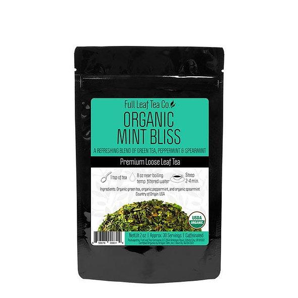 Full Leaf Organic Mint bliss