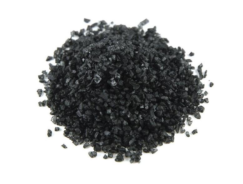 Hawaiian Black Lava Sea Salt (2oz)