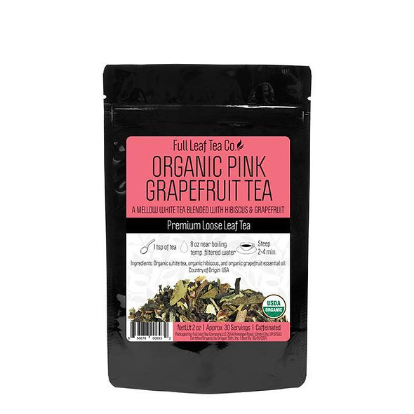 Full Leaf Organic Pink Grapefruit