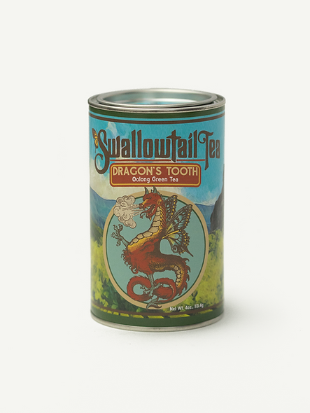 Dragon's Tooth, Oolong Green Tea (4oz)