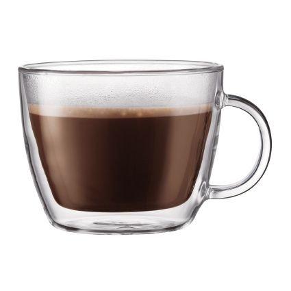 Bistro Cafe Latte Cup [Set of 2] (15oz)
