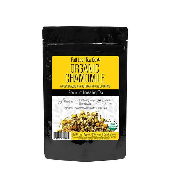 Full Leaf Organic Chamomile [Caffeine Free]