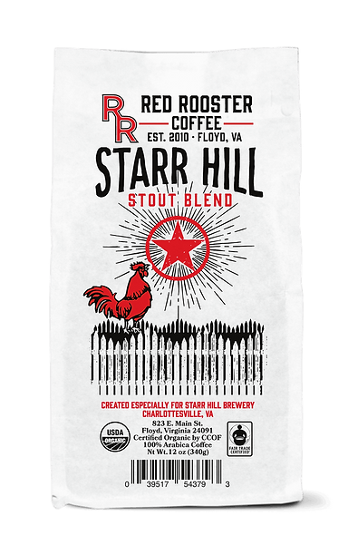 Starr Hill Stout[Certified Organic] (12oz)