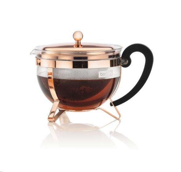 Chamboard Teapot [Copper] (44oz)