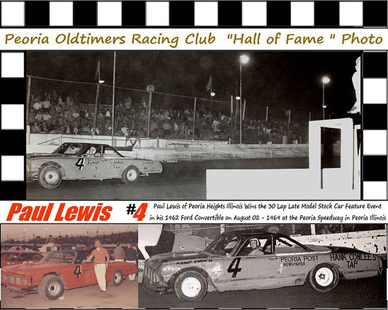 Paul Lewis 4 Feature Win 1969 collage.jp