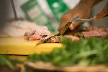 Osteria de' Peccatori Firenze interno cucina chef tagliata cucina toscana carne toscana
