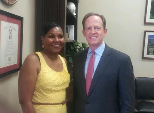 WPDB Executive Director Meets with Sen. Pat Toomey
