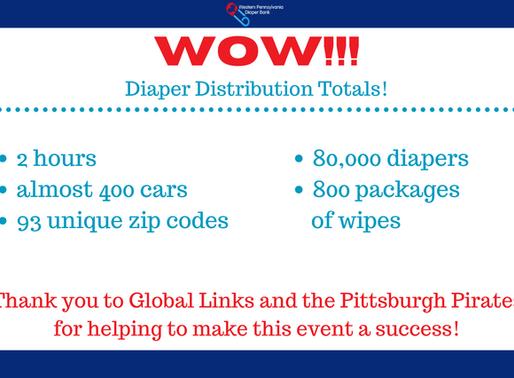 September 2020 Diaper Distribution A Success