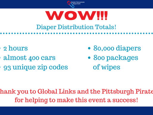 September 2020 Diaper Distribution A Success