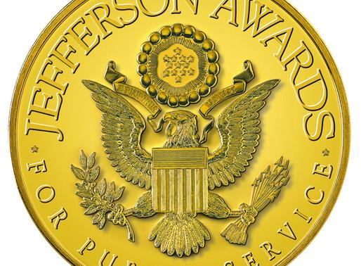 WPDB Executive Director Wins Second Jefferson Award