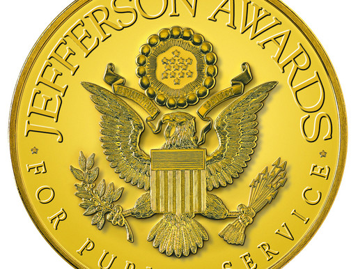 WPDB Executive Director Wins Second Jefferson Award