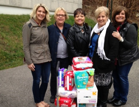 UPMC Health Plan Holiday Diaper Drive