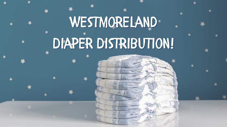 Westmoreland Diaper Distribution