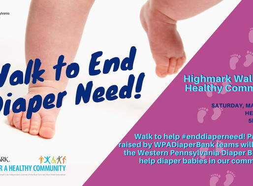 WPDB Joins the Highmark Walk for a Healthy Community