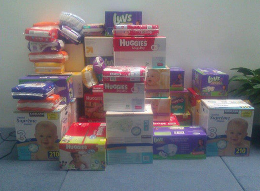 Diaper Supply Critically Low. Donations Needed.