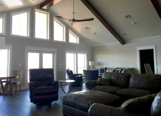 Light and dark interior