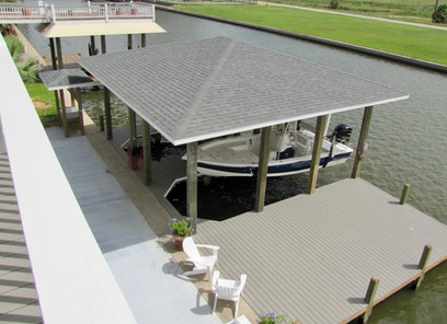 Boat dock and patio