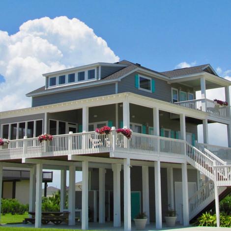 Crystal Beach house