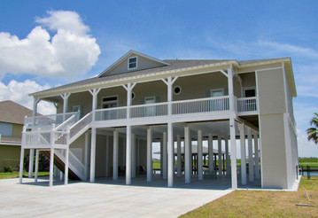 Bay front home