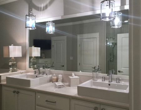 Gorgeous dual vanity