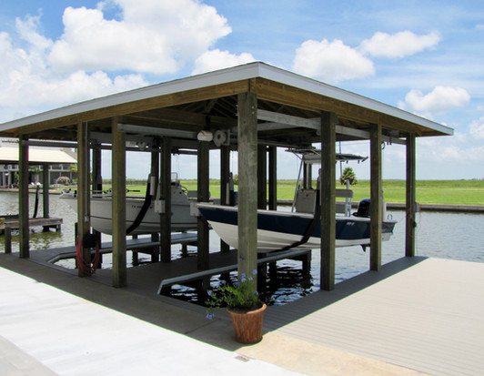 Boat Dock on the canal