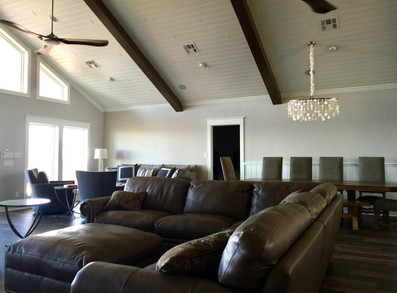 Open concept with natural light