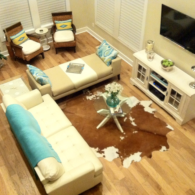 Texas coast living room