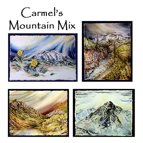 Colorado Mountains Greeting Card Pack