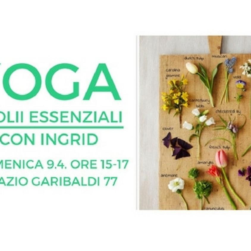 Yoga e Olii Essenziali con Ingrid